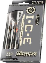 Harrows Black ICE 90% Tungsten Steeltip Dartpile 23 g