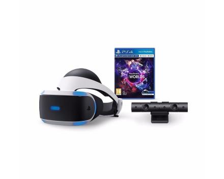 Playstation VR (inkl. Kamera) + VR Worlds - DEMO