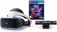 Playstation VR V2 (inkl. Kamera) + VR Worlds