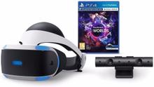 Playstation VR (inkl. Kamera) + VR Worlds