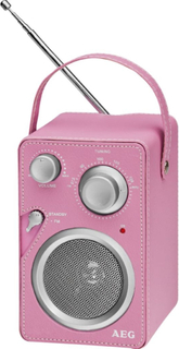 AEG Design radio rosa MR 4144