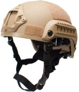Mich 2001, taktisk hjelm - Tan