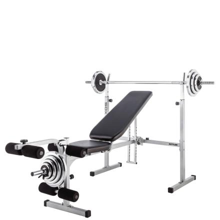 Kettler Axos Weight-Bench Bænkpres Træningsbænk