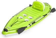 Bestway 65097, Rejse/fritid, Oppustelig båd, Sort, Grøn, PVC, 1 person(er), 150 kg