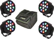 Ibiza LED Trådløs RGBW Spot Bundle
