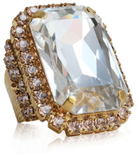 Alexa Cocktail Ring Crystal