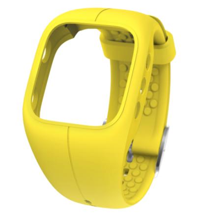 Polar A300 Træningsur & Aktivitetsmåler Wristband Gul - Apuls