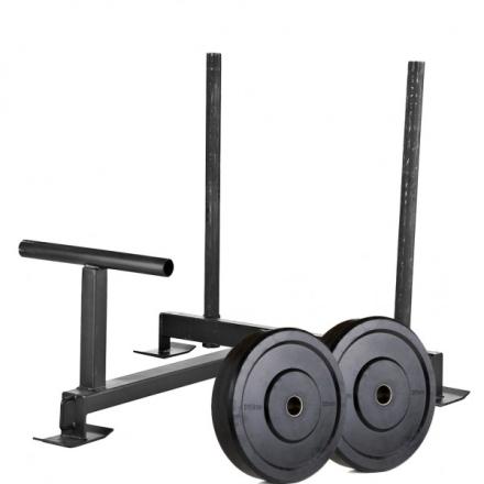 Nordic Fighter Metal Gymsled Crossfit Slæde (Inkl. 10kg bumper vægt)