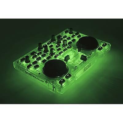 Hercules DJ kontroll gløden grønne DJ-kontroller