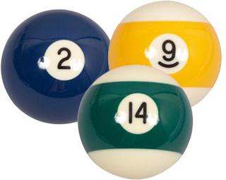 Søren Søgaard Billard / Pool Ball 57,2 mm Nr. 1
