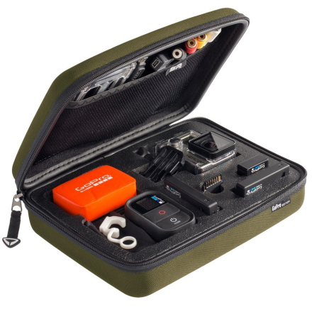 SP Pov Case GoPro Edition 3.0 Olive Small - Apuls
