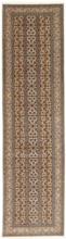Tabriz 50 Raj med silke matta 82x317 Persisk, Avlång Matta