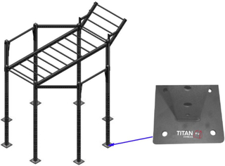 Titan Fitness Titan BOX Crossfit Rig Octagon OUTDOOR Hard Surface