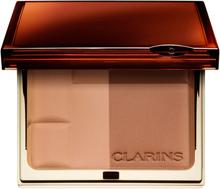 Kjøp Clarins Bronzing Duo Mineral Powder Compact, 02 Medium SPF15 Clarins Bronzer Fri frakt