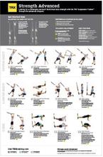 TRX All Body Strength Advanced Plakat 58 x 86cm