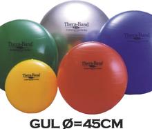 Thera-Band Terapibold & Træningsbold 45cm Gul