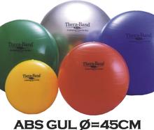 Thera-Band Terapibold & Træningsbold 45cm Gul (Inkl. ABS)