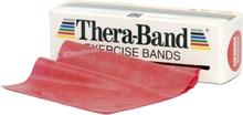 Thera-Band Træningselastik Bånd Level 2 Medium Rød 45,5m