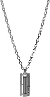 Fossil Halsband Men's Dress Stainless Steel 50 cm