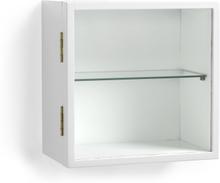 Zitti vitrinskåp Vitlack 32x18 cm