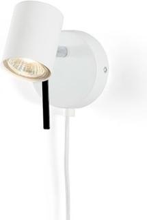 Alpha spotlight Vägglampa - Vit