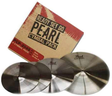 "Pearl cymbalpack ""Ready Set Go"""