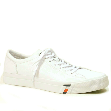 Tommy Hilfiger Dino Skinnsneakers, vit
