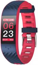 eStore P4 Aktivitetsarmband med blodtrycks- och pulsmätare - Röd