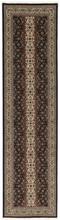 Tabriz 50 Raj med silke matta 78x313 Persisk, Avlång Matta