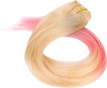 Osta Dip Dye Clip-In, Sugar Doll 50cm Rapunzel of Sweden Hiuslisäkkeet edullisesti