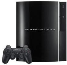 PlayStation 3 40GB Sort