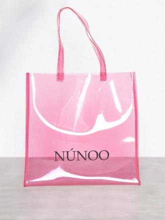 Håndvesker - Rosa NuNoo Large Tote Transparent