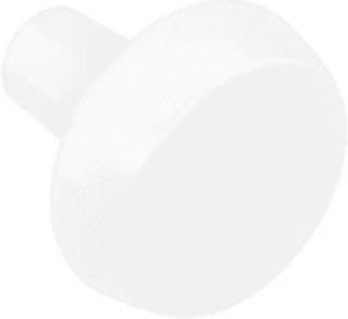 Dansani Dot handtag/knapp, vit