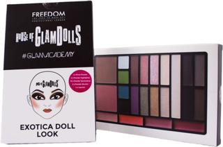 Kjøp House Of GlamDolls, Exotica Doll Look Freedom Makeup London Sminkepaletter Fri frakt
