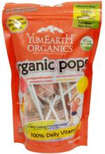 YummyEarth, Bio-Obst-Lutscher, 15 Lollipops, 3 oz (85 g)
