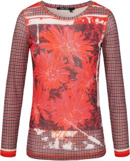 Shirt met ronde hals från Marc Aurel mångfärgad