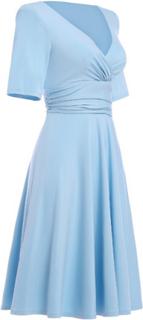 Retroklänning 40-tal Aurora Ljusblå