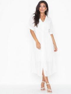 Yasmika Ss Midi Shirt Dress