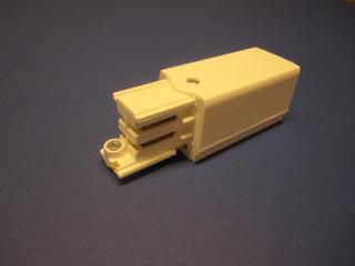 GLOBAL Trac XTS12-3 Anslutningsdon till 3-fas kontaktskena, ände höger