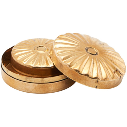 Meraki Storage Mini Brass Set Of 2 Sizes Mkke11