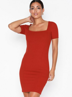 Noisy May Nmmaja S/S Short Dress X5 Tætsiddende kjoler