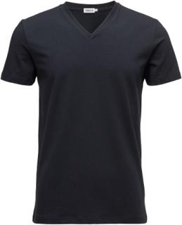 M. Lycra V-Neck Tee T-shirt Blå Filippa K
