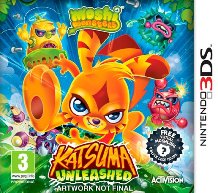 Nintendo Moshi Monsters: Katsuma Unleashed /Nintendo 3DS