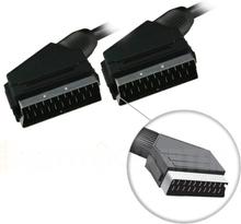 SCART-kabel, fullkoblet, output ? output, 1m