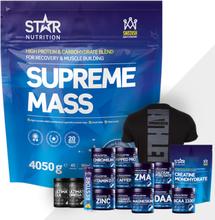Supreme Mass, 4 kg + Bonus Product!, Choklad