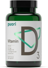 D3 D-vitamin, 120 kapslar