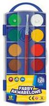 Astra - Farby akwarelowe 12 kolorów