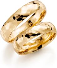 Schalins Förlovningsring 18k Guld Romans 250-5