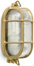 Cabo væglampe 1 x E27 - Antik messing