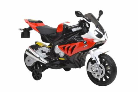 HECHT BMW S1000RR-RED MOTOR SKUTER ELEKTRYCZNY AKUMULATOROWY MOTOCYKL MOTOREK ZABAWKA AUTO DLA DZIECI - EWIMAX OFICJALNY DYSTRYBUTOR - AUTORYZOWANY DEALER HECHT